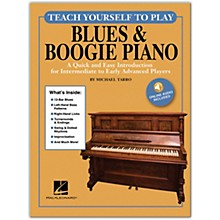 Hal Leonard Teach Yourself to Play Blues & Boogie Piano Written by Michael Tarro