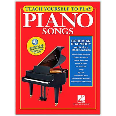 "Hal Leonard Teach Yourself to Play ""Bohemian Rhapsody"" & 9 More Rock Classics on Piano Book/Video/Audio"