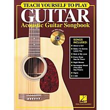 Hal Leonard Teach Yourself to Play Guitar - Acoustic Guitar (Songbook/CD)