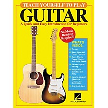 Open BoxHal Leonard Teach Yourself to Play Guitar Book