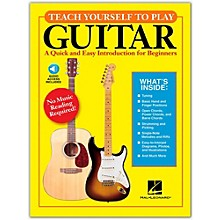 Hal Leonard Teach Yourself to Play Guitar Book/Online Audio