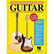 Hal Leonard Teach Yourself to Play Guitar Book