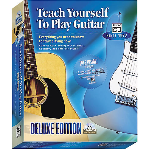 Alfred Teach Yourself to Play Guitar Deluxe Edition (CD-ROM)