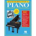 Hal Leonard Teach Yourself to Play Piano Book thumbnail