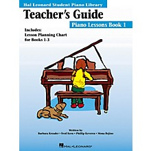 Hal Leonard Teachers Guide Piano Lessons Book 1 Hl Student Piano Library Educational Piano International Edition