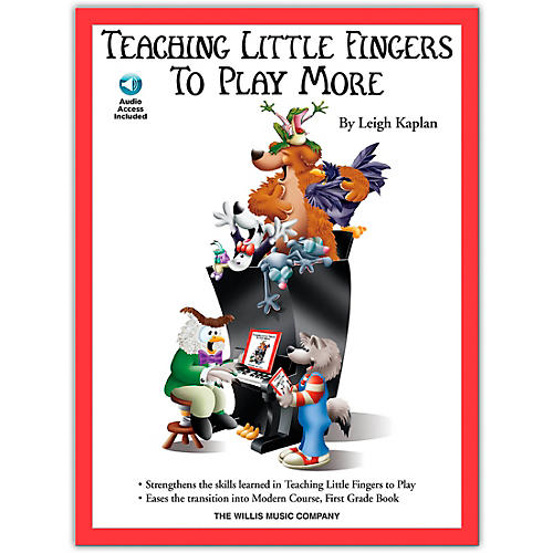Willis Music Teaching Little Fingers To Play More (Book/Online Audio)