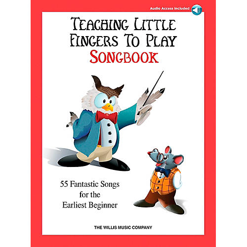 Willis Music Teaching Little Fingers To Play Songbook Book/2CD's