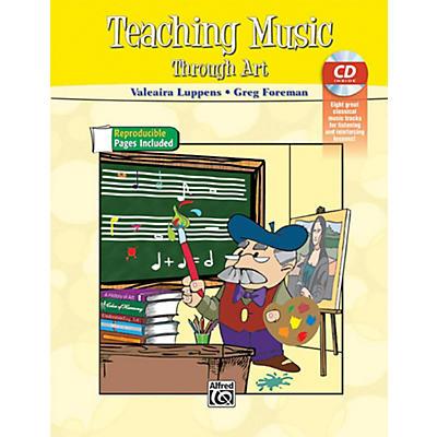 Alfred Teaching Music Through Art Book & CD