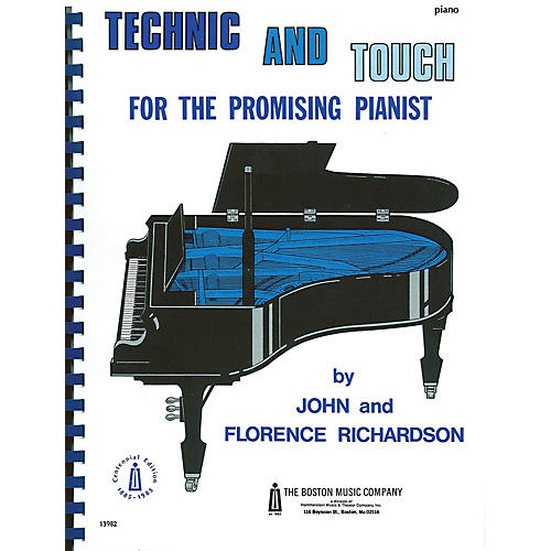 Music Sales Technic And Touch For Promising Pianists Music Sales America Series