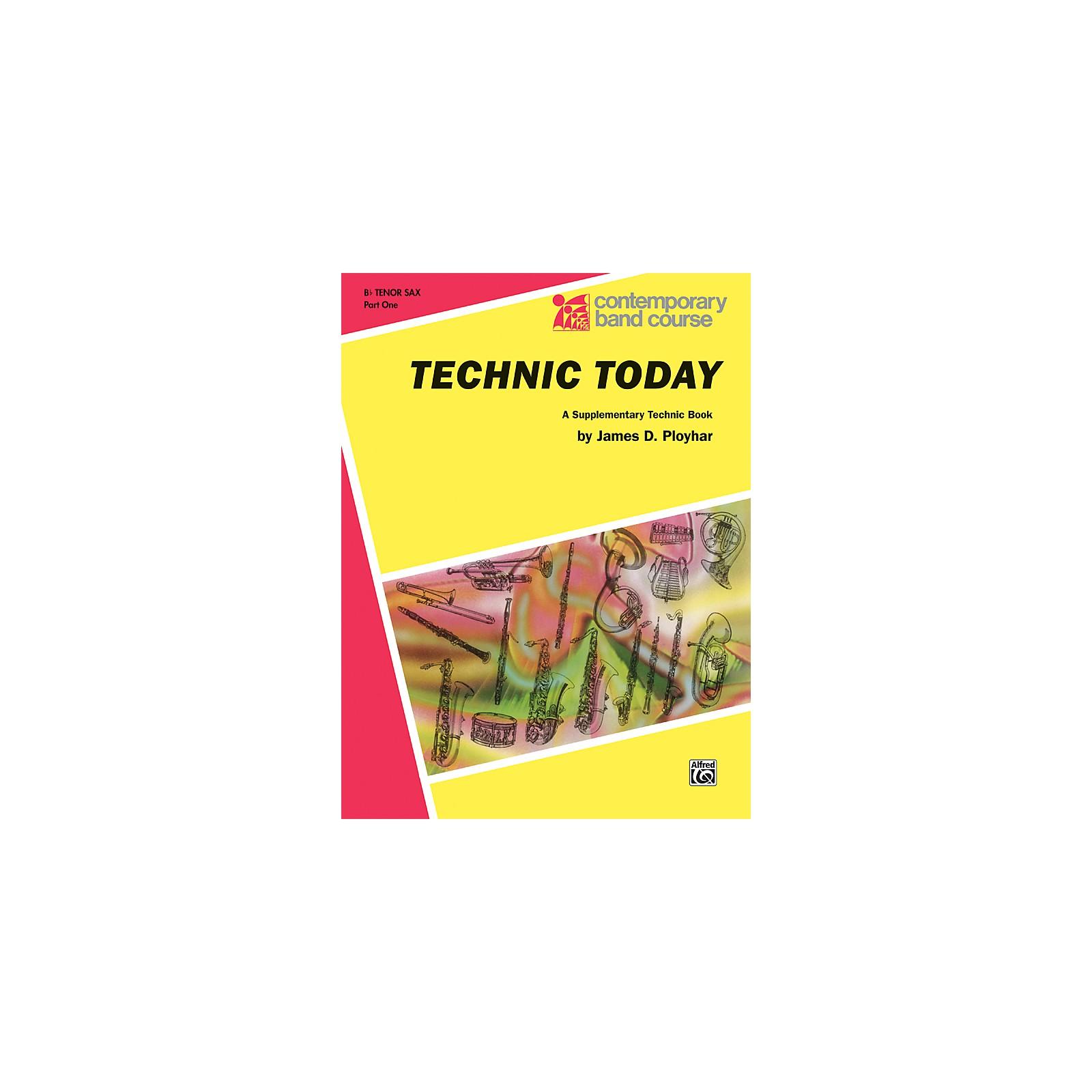 Alfred Technic Today Part 1 B-Flat Tenor Saxophone