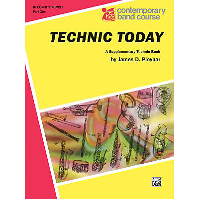 Alfred Technic Today Part 1 B-Flat Trumpet (Cornet)