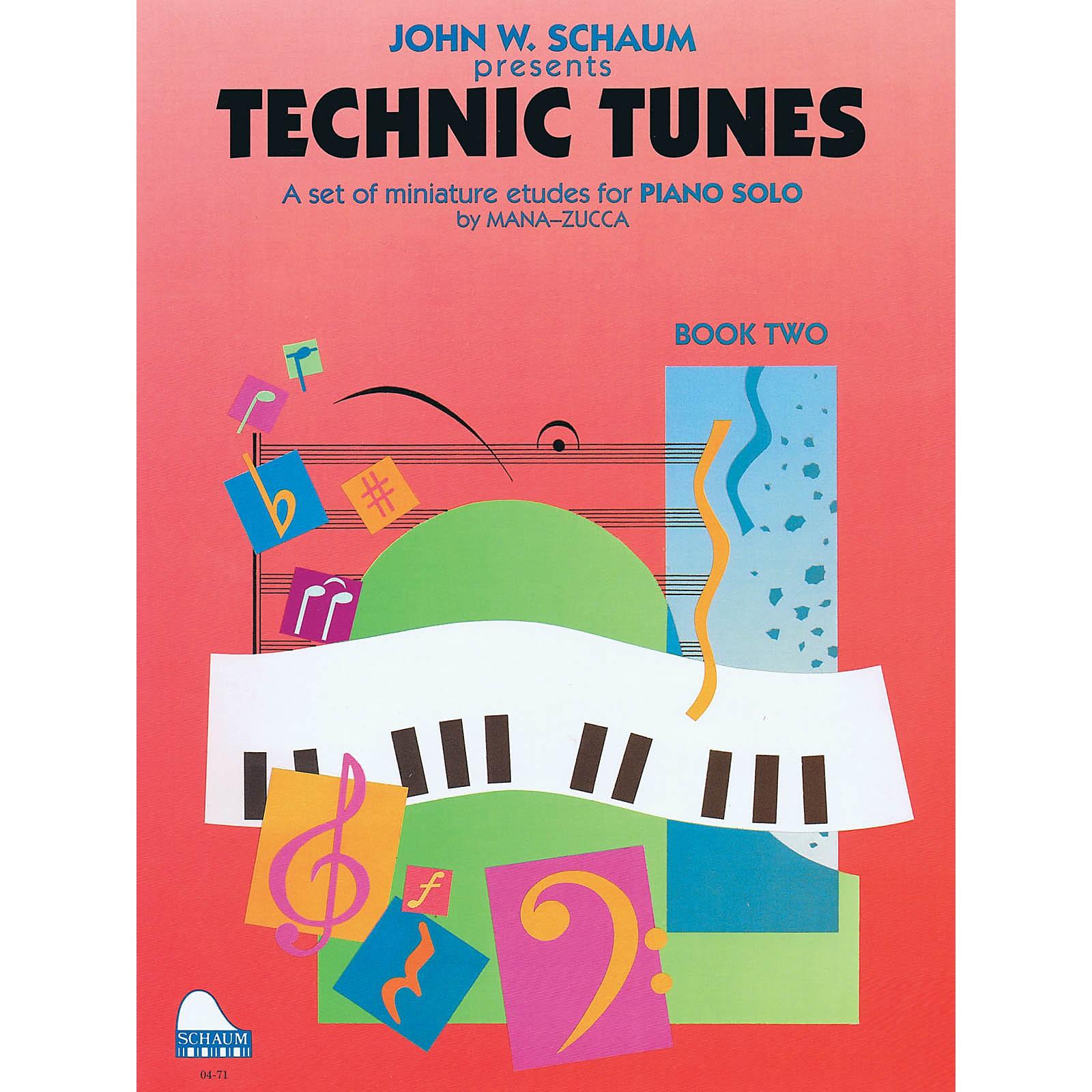 SCHAUM Technic Tunes, Bk 2 Educational Piano Series Softcover