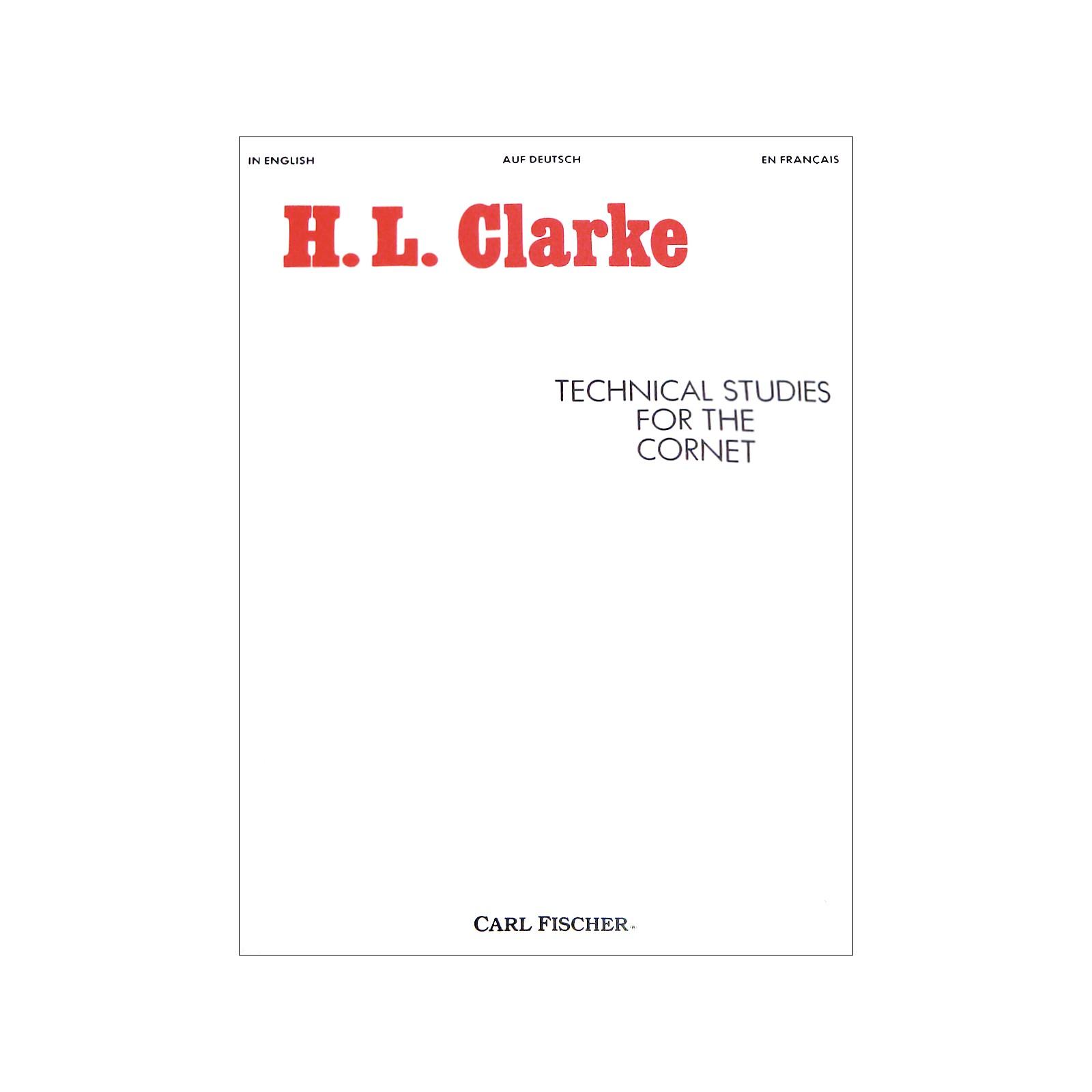 Carl Fischer Technical Studies for the Cornet