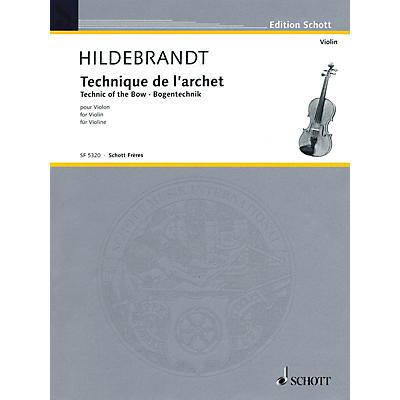Schott Technique of the Bow String Method Series Written by Merrick Hildebrandt