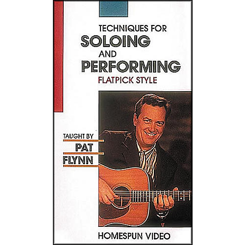Homespun Techniques for Soloing and Improvisation - Flatpick Style (VHS)