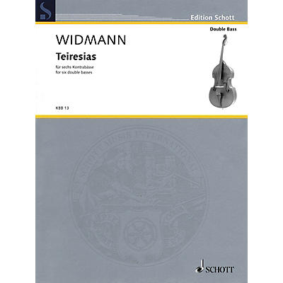 Hal Leonard Teiresias (Score and Parts) Schott Series Softcover Composed by Jörg Widmann