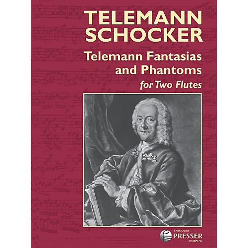 Carl Fischer Telemann Fantasias and Phantoms Book