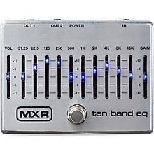 Open BoxMXR Ten Band EQ Pedal