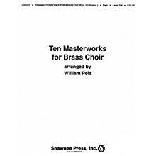 Hal Leonard Ten Masterworks for Brass Choir Brass Choir