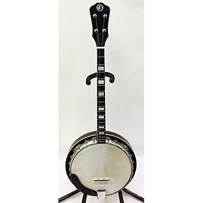 Kay Tenor Banjo Eagle Back Banjo