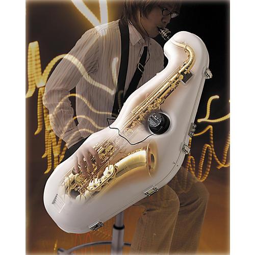 e-Sax Tenor Saxophone Practice Mute System White