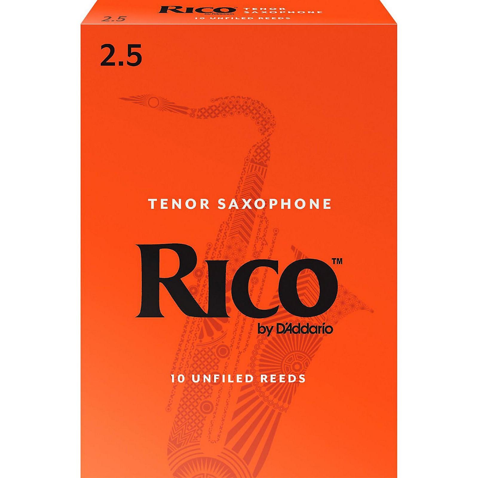 Rico Tenor Saxophone Reeds, Box of 10