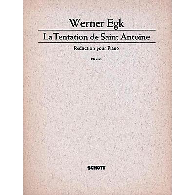 Schott Tentation De St. Antoine Schott Series  by Werner Egk