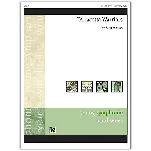 Alfred Terracotta Warriors Conductor Score 2 (Medium Easy)