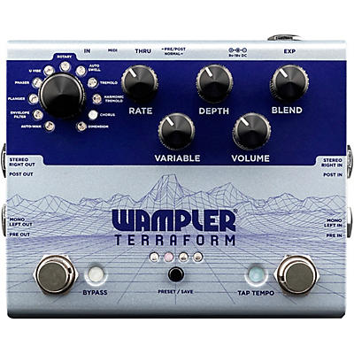 Wampler Terraform Modulation Multi-Effects Pedal