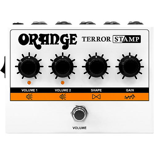 Orange Amplifiers Terror Stamp 20W Tube Hybrid Pedal Amp White