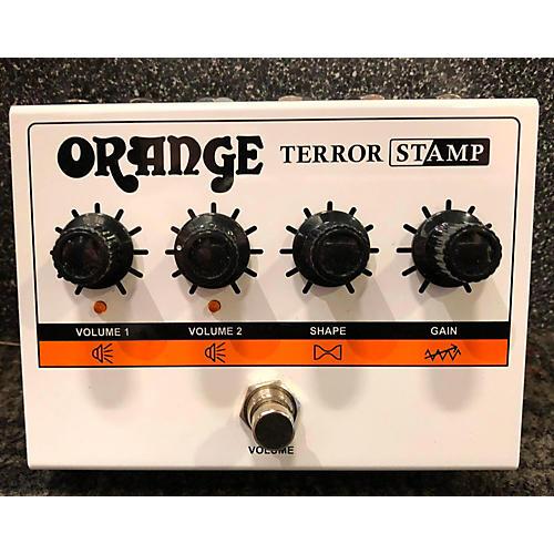 Orange Amplifiers Terror Stamp Effect Pedal