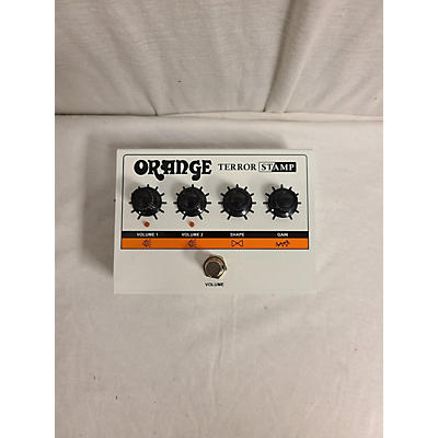 Orange Amplifiers Terror Stamp Pedal