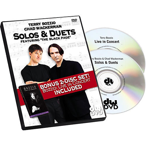 DW Terry Bozzio/Chad Wackerman - Solos and Duets (DVD)