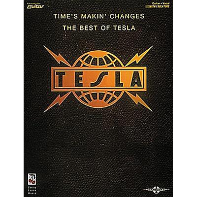 Hal Leonard Tesla - Times Makin' Changes Book