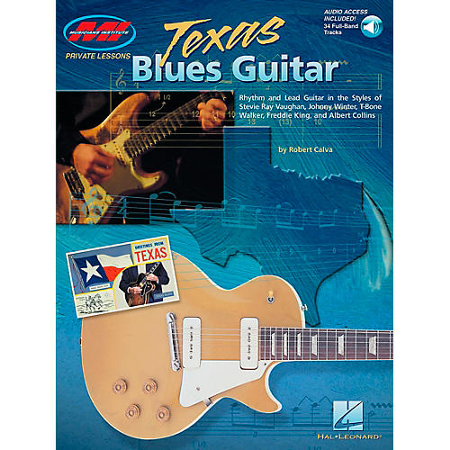Hal Leonard Texas Blues Guitar Book/Online Audio
