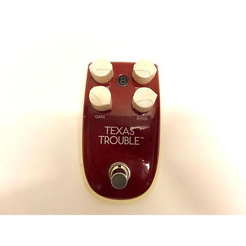 Texas Trouble Effect Pedal