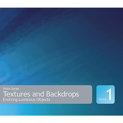 Sony Textures and Backdrops Vol. I: Evolving Luminous Objects ACID Loop CD