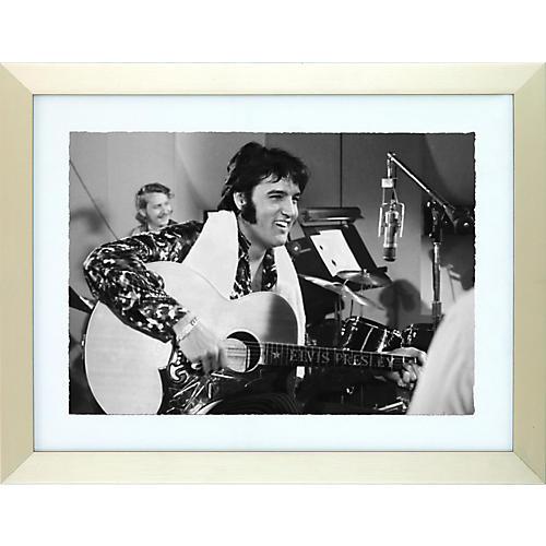 Elvis Presley Enterprises That's the Way It Is Elvis Framed Print