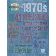 Hal Leonard The 1970s Country Decade Series arranged for piano, vocal, and guitar (P/V/G)