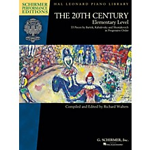 G. Schirmer The 20th Century - Elementary Level Schirmer Performance Editions Softcover
