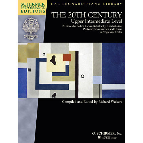 G. Schirmer The 20th Century - Upper Intermediate Level Schirmer Performance Editions Softcover