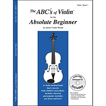 Carl Fischer The ABC's Of Violin For The Absolute Beginner - Book/Online Audio