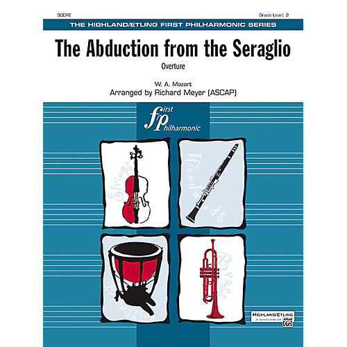 Alfred The Abduction from the Seraglio Full Orchestra Grade 2