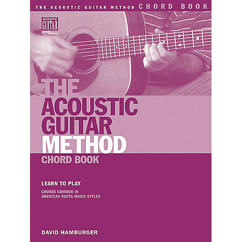 String Letter Publishing The Acoustic Guitar Method Chord Book