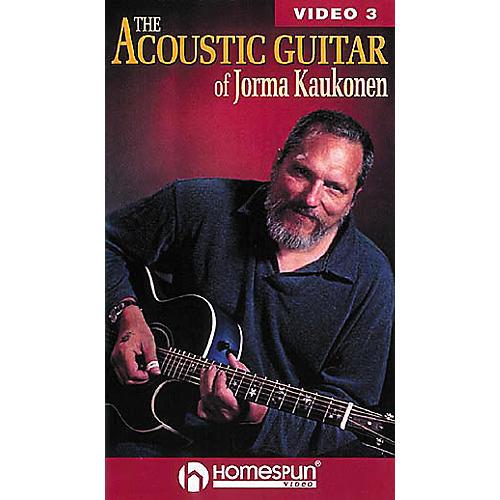 Homespun The Acoustic Guitar of Jorma Kaukonen 3 (VHS)
