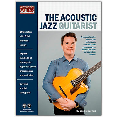 Hal Leonard The Acoustic Jazz Guitarist - Acoustic Guitar Private Lessons Series Book/ Media Online