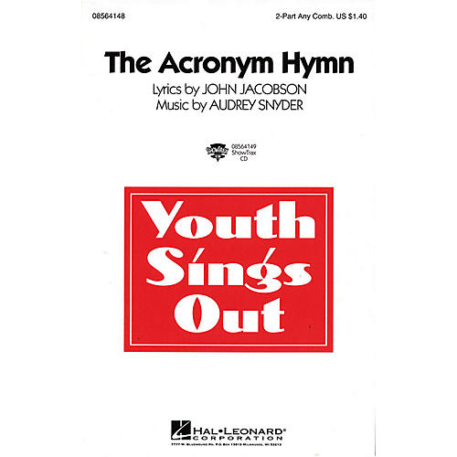Hal Leonard The Acronym Hymn ShowTrax CD Composed by Audrey Snyder
