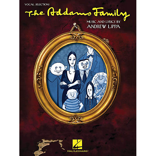 Hal Leonard The Addams Family - Vocal Selections Songbook
