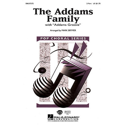 Hal Leonard The Addams Family 2-Part arranged by Mark Brymer