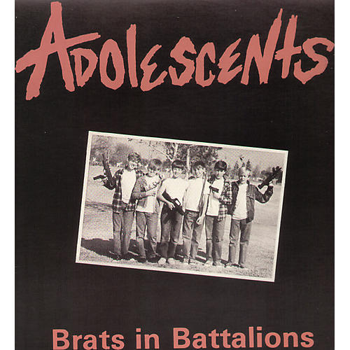 Alliance The Adolescents - Brats in Battalions